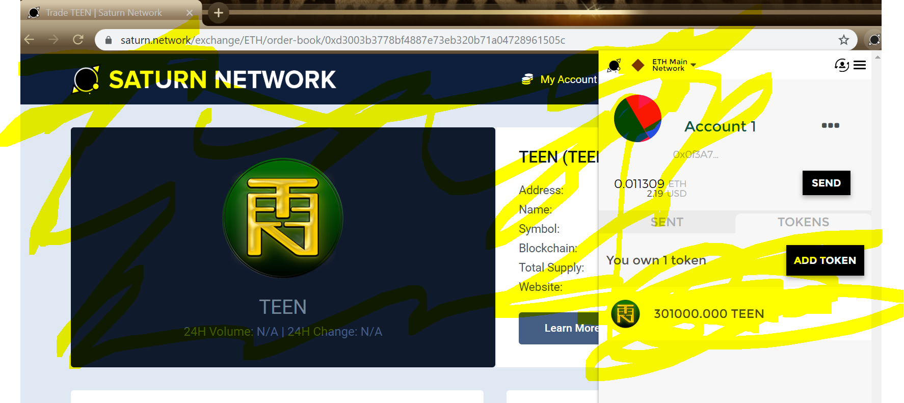 TEEN Coin turns one year old!