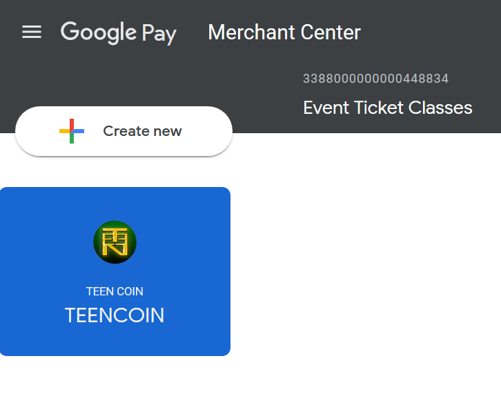 Teen Coin Files Cryptocurrency QR Code Google SKU Patent