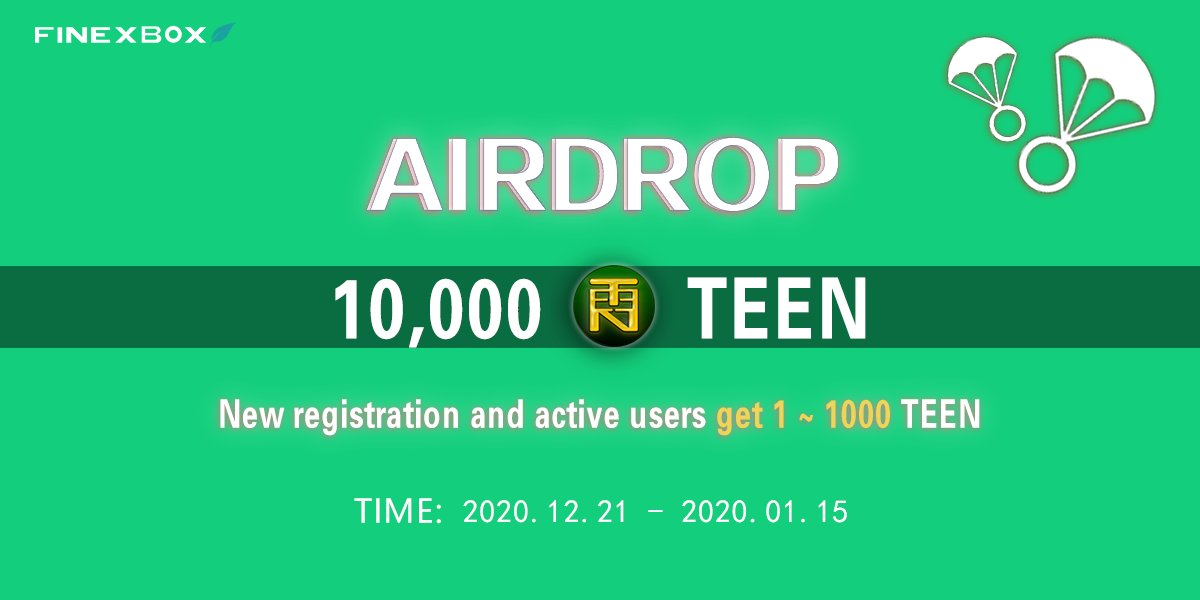 Finexbox Airdrop To New / Active Users #airdrop