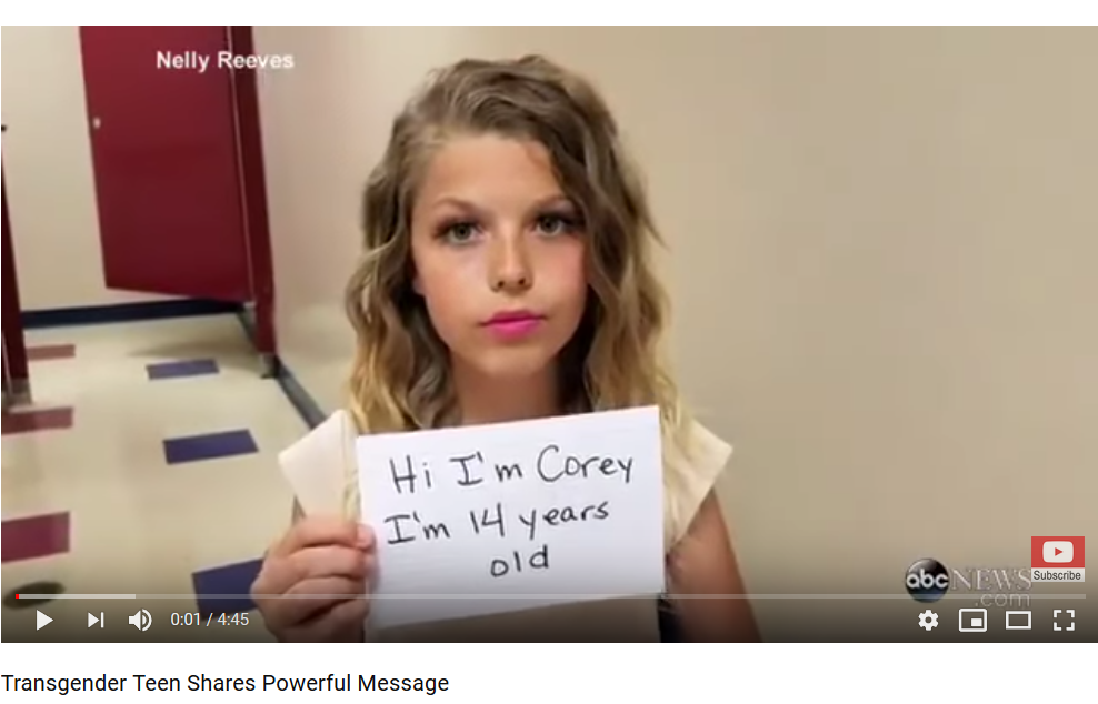 Transgender Teen Shares Powerful Message #teencoin